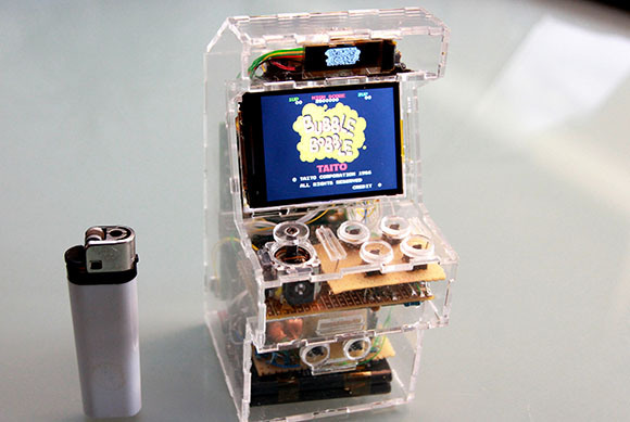 Mini Recreativa Arcade, amb Mame i Raspberry Pi