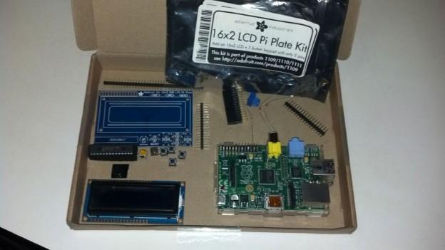 Ràdio internet amb Raspberry Pi i LCD 16×2 amb 5 botons