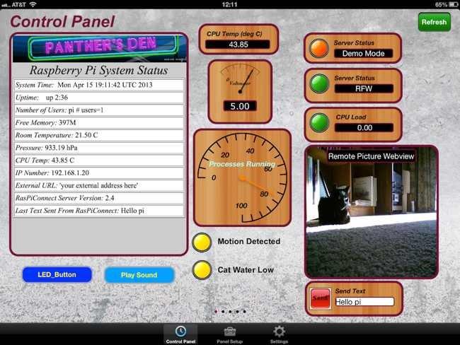 RasPiConnect controla el Raspberry Pi des d'un iPad
