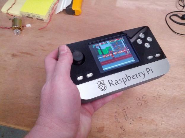 Consola portàtil amb Raspberry Pi