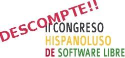 DESCOMPTE per als nostres lectors: Congreso Hispanoluso de Software Libre de 2013