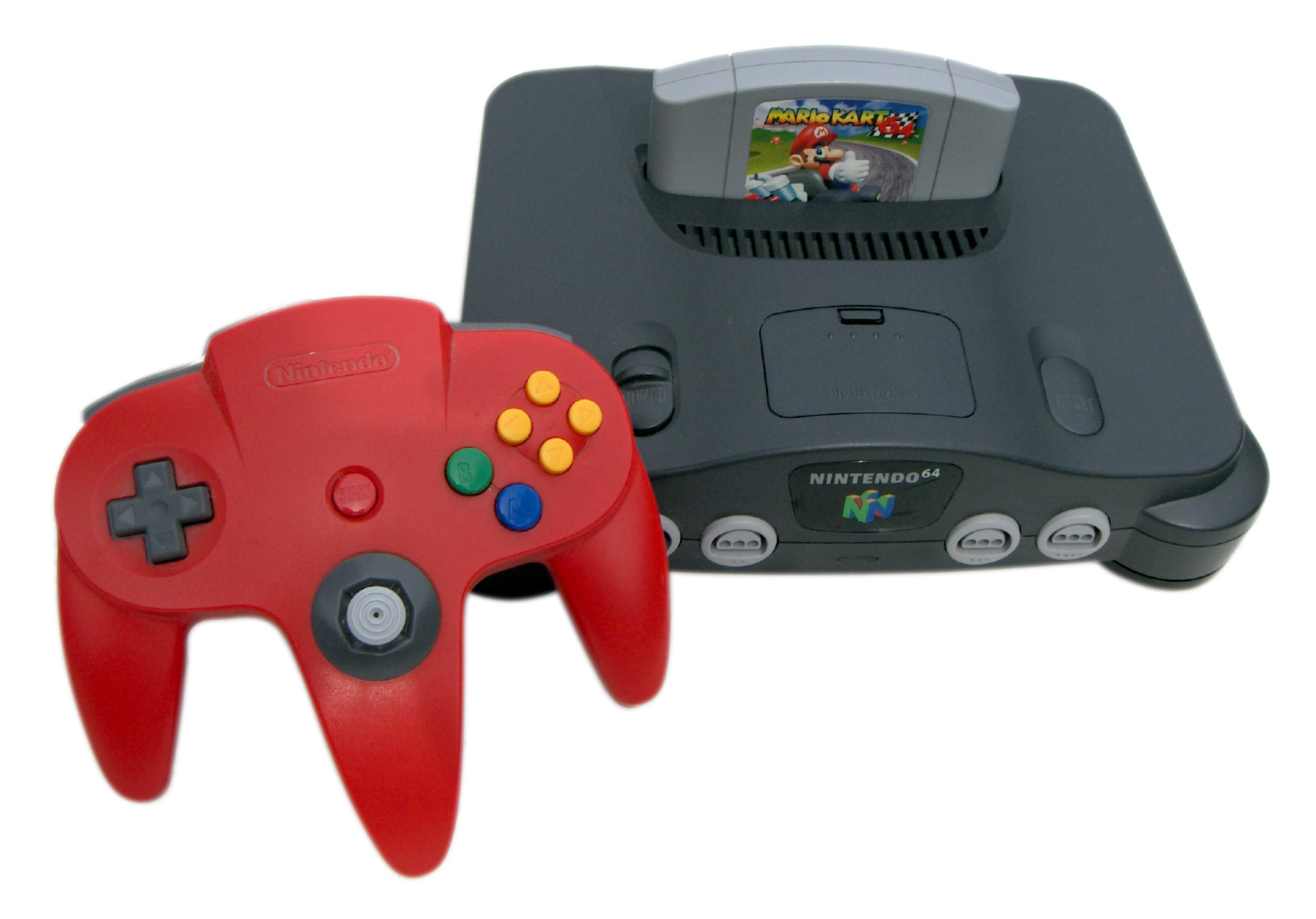 Versio Alpha de l'emulador de Nintendo 64
