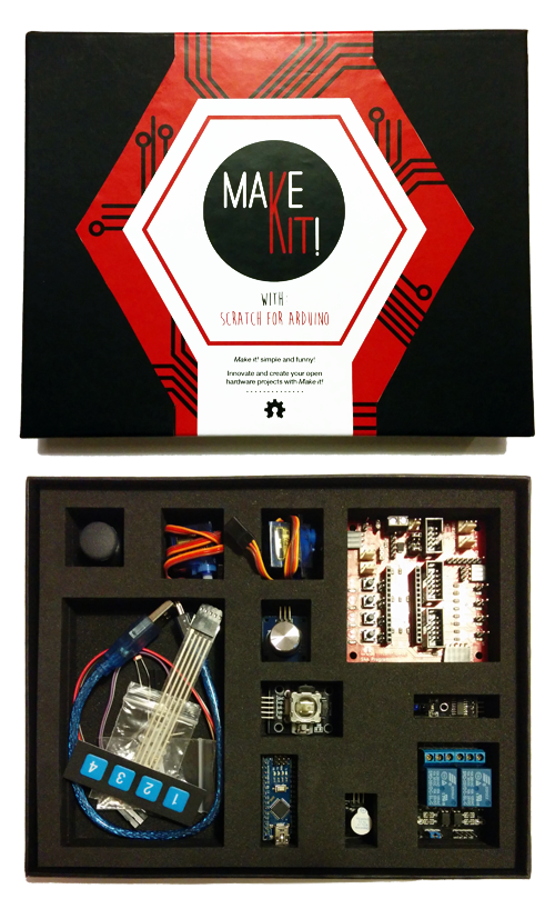 Make it! Prototyping learning board Kit