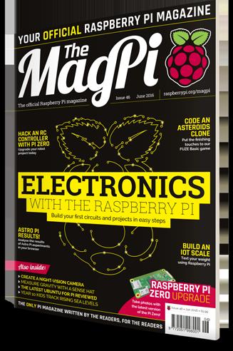 The MagPi #46 – Subscriu-te i aconsegueix un Raspberry Pi Zero