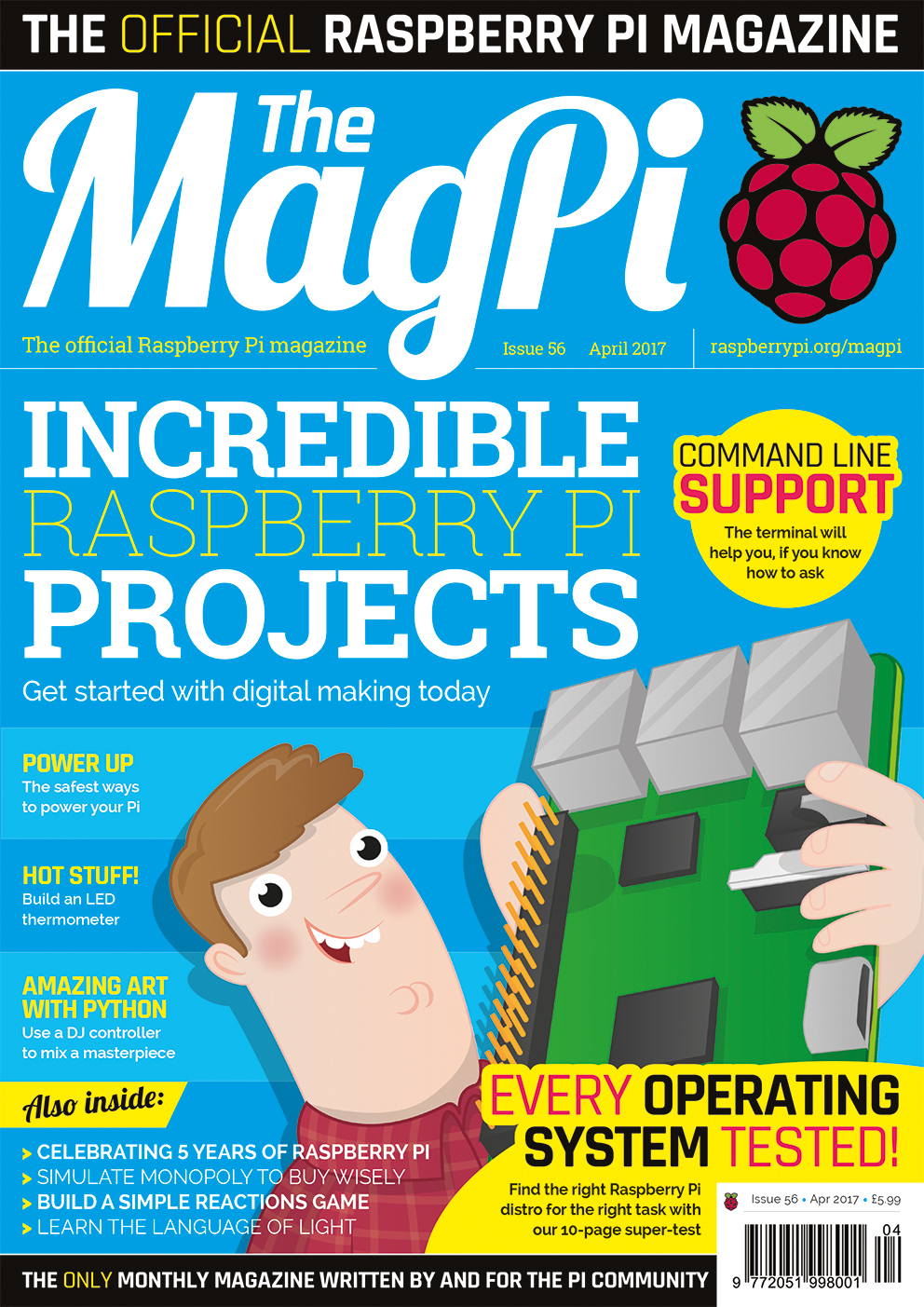 The MagPi 56 – Abril 2017
