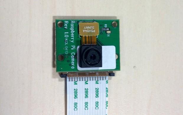 Càmera oficial per a Raspberry Pi