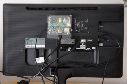 Caixa VESA per a Raspberry Pi