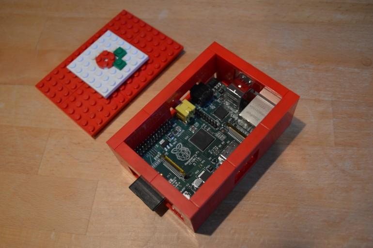 Caixa per a Raspberry Pi feta amb Lego