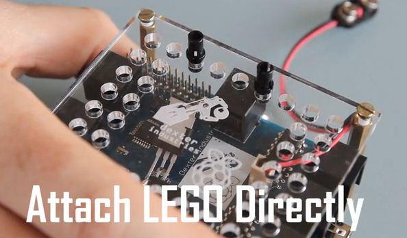 'Brick Pi' peces de Lego amb un cervell de Raspberry Pi