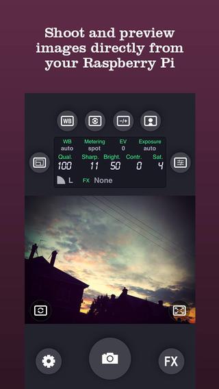 BerryCam: utilitza la teva càmera de Raspberry Pi amb un iPhone