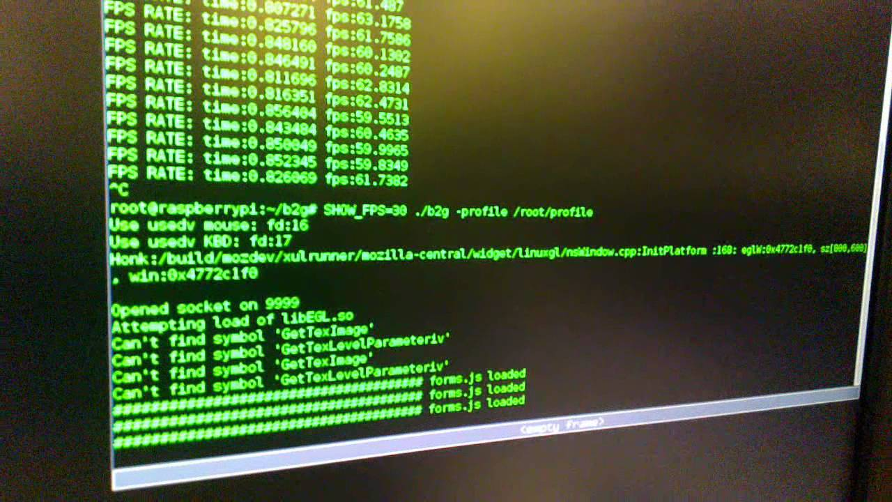 Firefox OS a Raspberry Pi