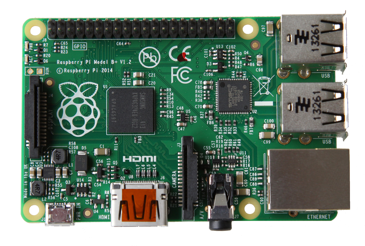 Nou model de Raspberry Pi, el B+