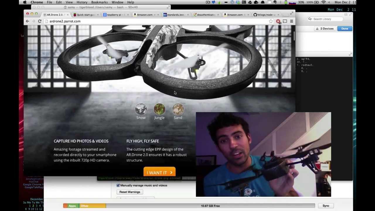 SkyJack, el Dron que converteix als altres en zombie