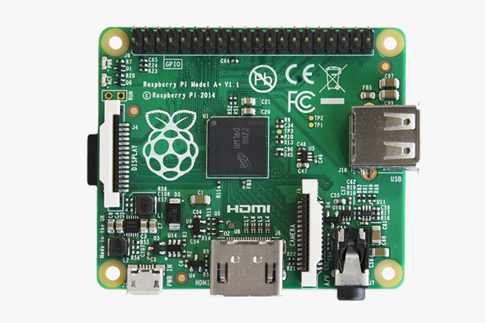 Nou model: Raspberry Pi A+