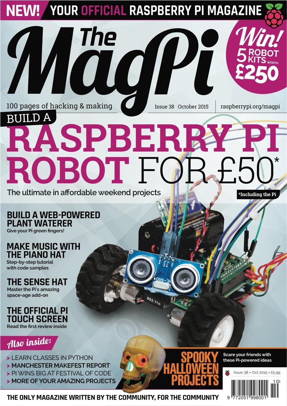 The MagPi Número 38 – Octubre 2015