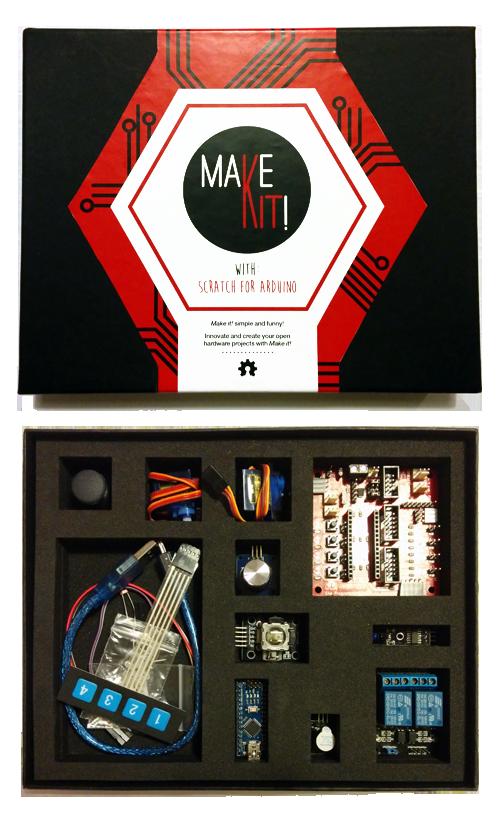 Make it! Prototyping learning board Kit
