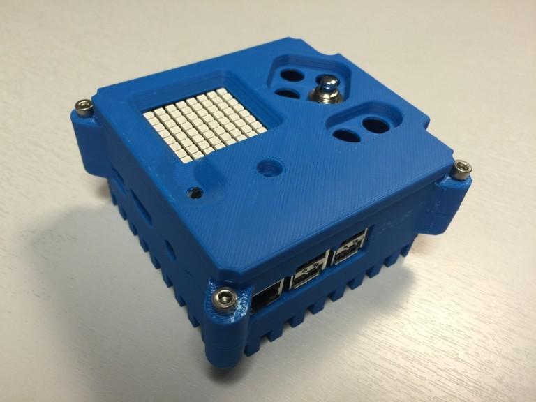 Imprimeix-te la caixa que ha acompanyat al Raspberry Pi a la ISS