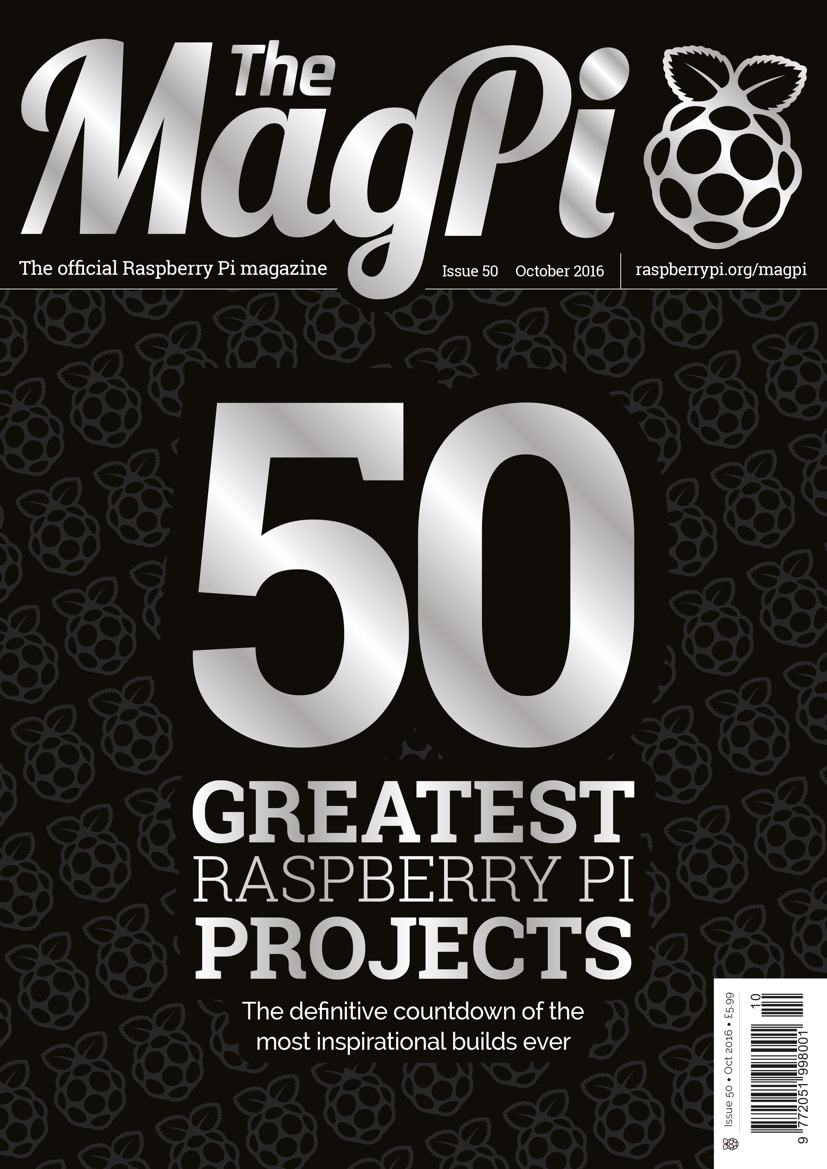 The MagPi 50
