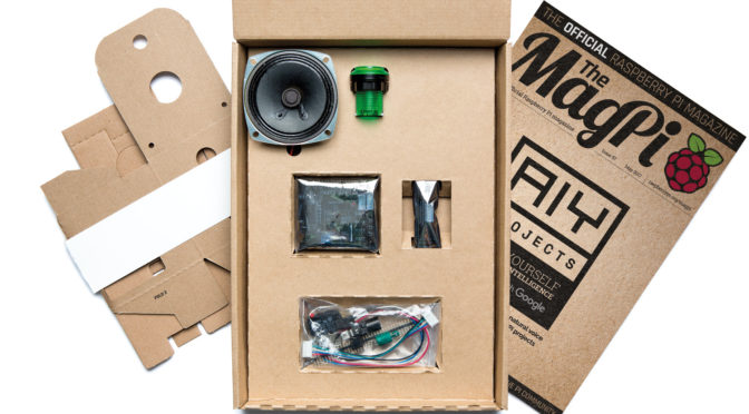 The MagPi 57 et regala un Google Voice Hardware per als teus projectes AIY