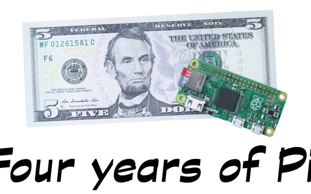 El proper dilluns es cel·lebra el 4rt aniversari de Raspberry Pi!